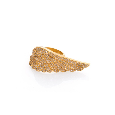 18K Gelbgold Fingerring