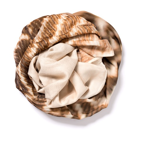 Light natural Pashmina