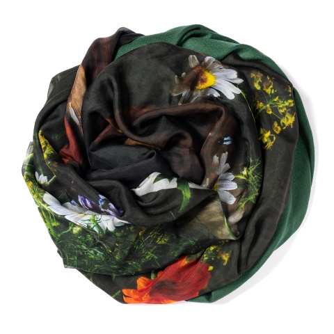 Dark green colored Pashmina