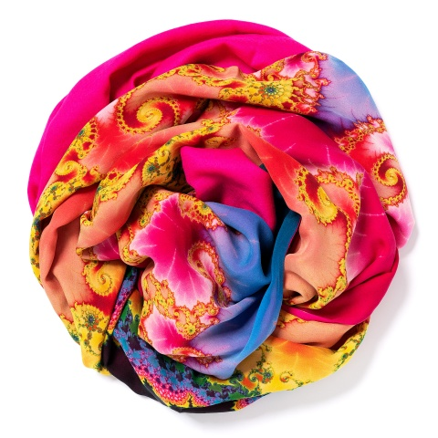 Pink colored Pashmina