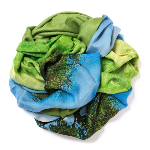 Apple green Pashmina